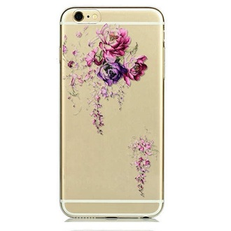 "Чехол для iPhone 6 4,7"" Purple Flowers"